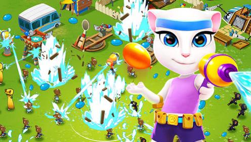 汤姆猫家族游戏系列17 汤姆猫战营-全新玩法教学