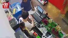 """外国男子""""手语""""购物 收银员被骗"""
