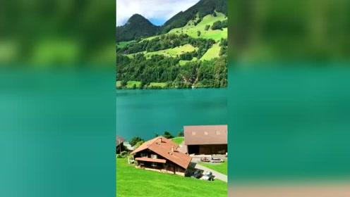 瑞士,因特拉肯小镇,童话般的世界