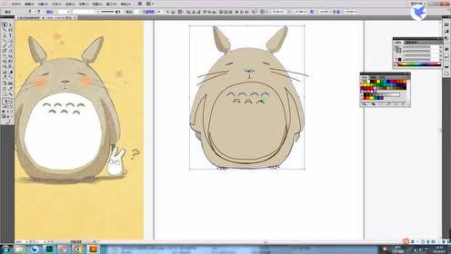 教你轻松用AI画个龙猫,有点搞笑,但是请别笑