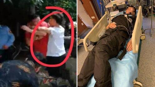 杭州星洲花园多名保安被捅伤 疑与外来车辆发生