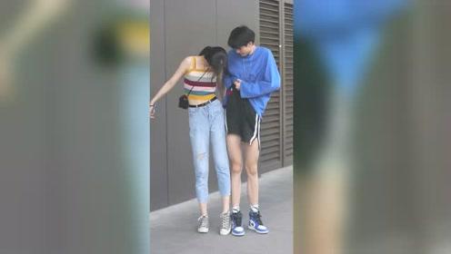 两大腿精在线比腿,男生这腿是真是存在的吗,