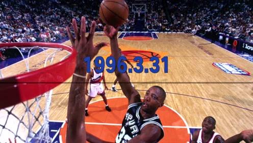 天勾超神、公牛连胜、大郅首秀,#NBA时光机#带你回溯NBA历史上这周