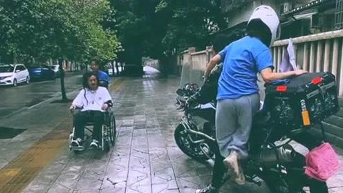 当一个机车爱好者坐在轮椅上之后,再回首过去