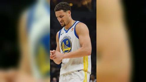 搞笑NBA:汤普森投篮自己手滑出界,还以为是被盖了委屈的不行