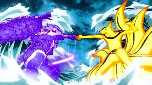 火影忍者:鸣人与佐助的终结之战,战斗场面燃爆。究竟谁能够获胜?