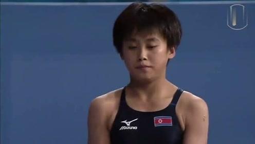 朝鲜历史第一枚世锦赛跳水金牌