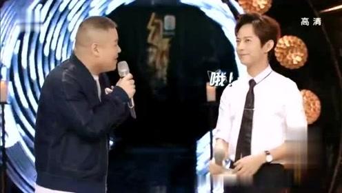 岳云鹏和何炅现场即兴说相声《猜歌名》全场从头笑到尾