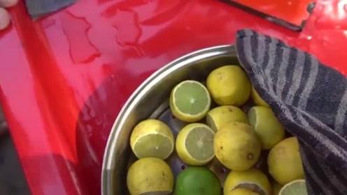 美食:印度人夏天的解暑饮料柠檬水,酸爽透心凉的感觉,你敢喝吗?