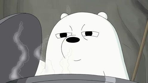 白熊小时候与尤利的故事,实在太可爱了
