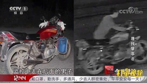 肇事者弃车逃逸,监控记录下全过程,是两人作案?来看