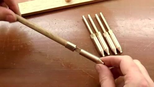 以前没有电动工具是如何打孔的,看完这个视频,解开了多年疑惑!