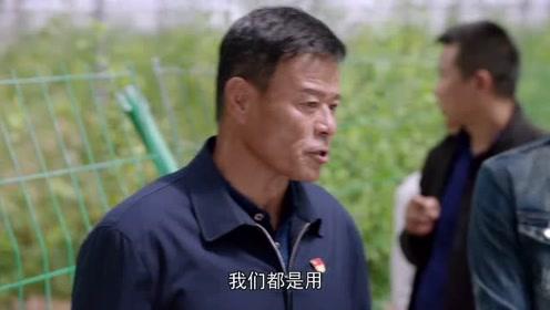 一个都不能少赵百川带人参观有机大棚,并借机
