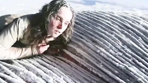 美女坐热气球被困万米高空,这令人窒息的操作,简直太上头了