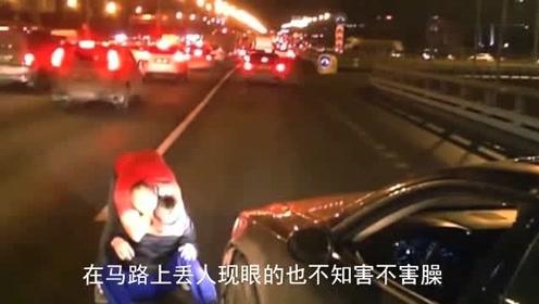 被豪车司机逼停后,视频车车主太霸气!下一秒我忍不住笑了!