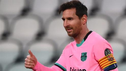 欧冠-梅西传射莫拉塔3球被吹 10人尤文0-2巴萨