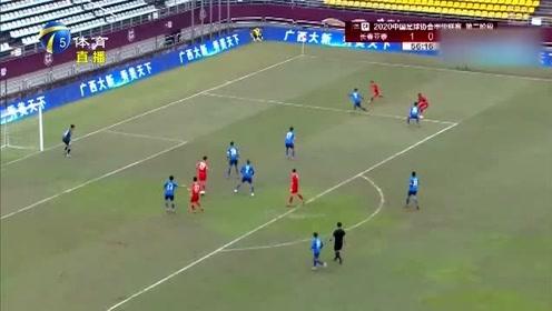 中甲联赛:长春2:0胜昆山FC,下轮打平即可冲超!