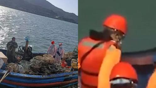 """好大的胆子!台湾以""""越界""""为由,扣押大陆渔船强行登船拘4人!"""