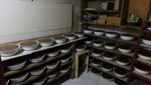 20块钱的一盆的凉粉,河南大叔做了近40年,每天做5锅,卖2000斤