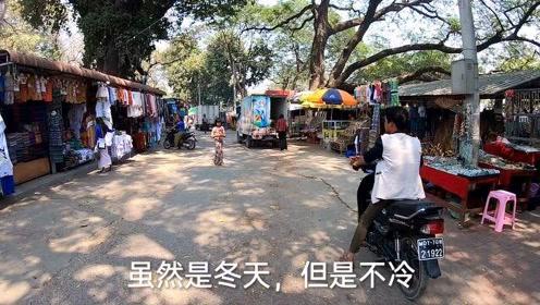 缅甸旅游,中国单身汉找老婆的好地方,远离城市的小镇