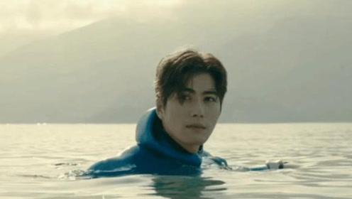 30岁陈学冬下海拍戏受伤,被水母蜇成筛子,依旧