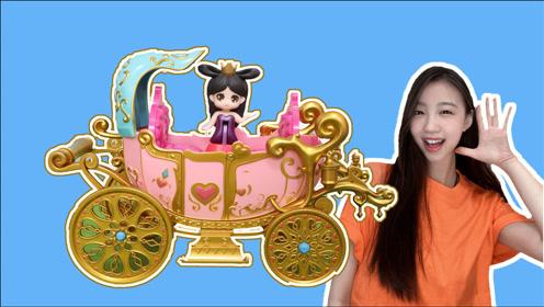 精灵梦叶罗丽:梦幻音乐马车玩具分享