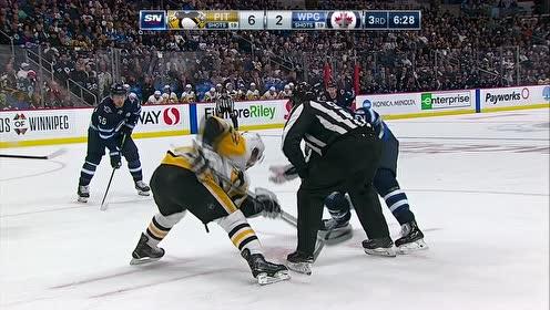 【回放】NHL常规赛:喷气机vs企鹅第三节