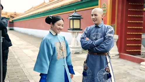 Behind the scenes: This pose is so strange | Dreaming Back to the Qing Dynasty