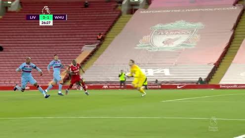 【回放】20/21英超第7轮:利物浦vs西汉姆联 上半场