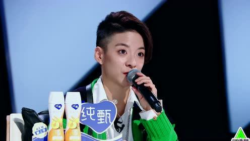 BTS: Amber was captivated by Gan Wangxing's cuteness   CHUANG 2021