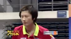 乒超赛场世界杯冠军打奥运冠军,像以卵击石,这就是乒乓球!