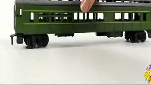 火车婴儿视频玩具经典铁路快车火车玩具益智早