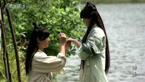 《神话》金沙苦等胡歌病好来娶自己,终于等到这天自己却没时间了