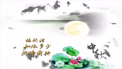 中秋月古诗苏轼
