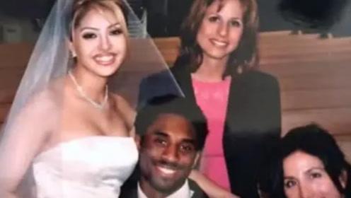 瓦妮莎20岁的婚纱照太美了!婚礼仅12人出场,成科比最后遗憾