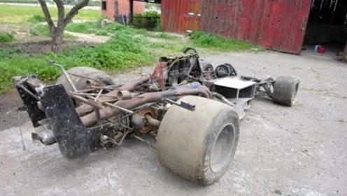 4个最昂贵的废弃汽车,真是太可惜了