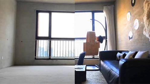女子自拍记录:130平方米出租房,从毛坯到精装