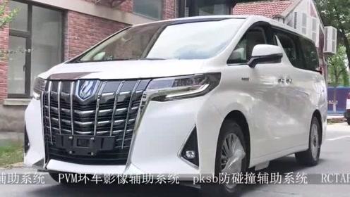 20款丰田埃尔法视频欣赏,大空间豪华商务车