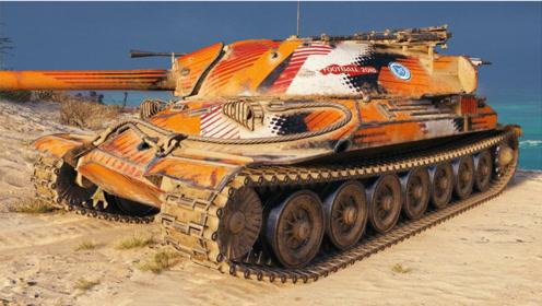 坦克世界:苏式IS-7重坦(260工程车)