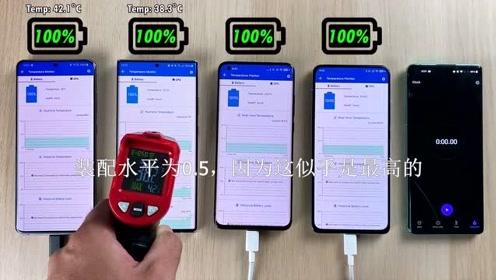 电池耗电测试-小米10、三星、、Redmi K30电池对比测试