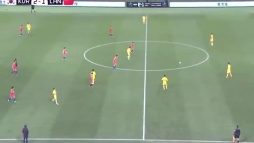 东亚杯:韦世豪的进球是欧洲水平,这个停球是中甲水平!