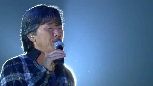 林子祥演唱《最爱是谁》现场版,歌声情感真挚,超好听的!