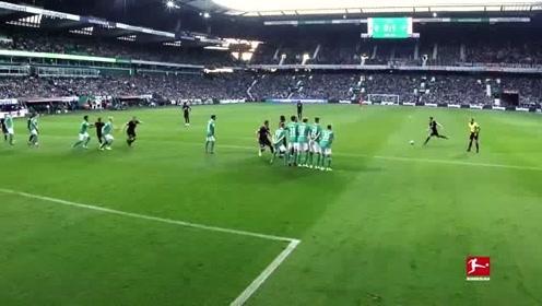 19/20德甲赛场竟然如此多任意球破门,你喜欢哪一个呢?