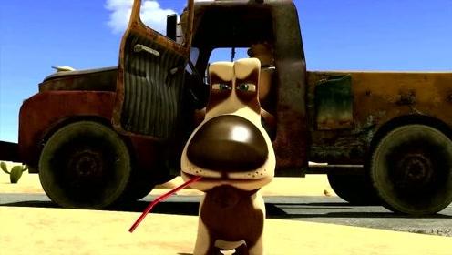 搞笑动画:奥斯卡的绿洲,狩猎犬