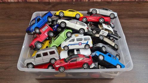 介绍各种造型的小汽车玩具