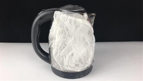 赶紧在水壶上敷张纸巾,作用真的太厉害了,用一次赞一次,没骗你
