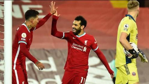 英超-菲尔米诺破荒若塔进球,利物浦2-1逆转谢菲联