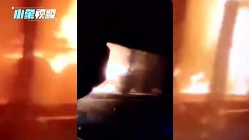 包茂高速又现车祸 三四辆车相撞起火 与43车连撞事故地仅隔30km