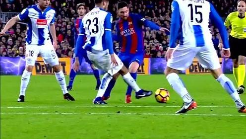 大米足球:梅西精彩过人集锦