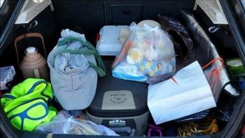 不管汽车后备箱有多大,跑高速切记要带5样东西,别拿生命开玩笑
